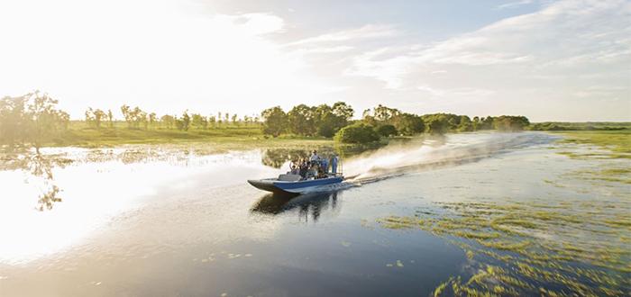 Pantanos del río Mary